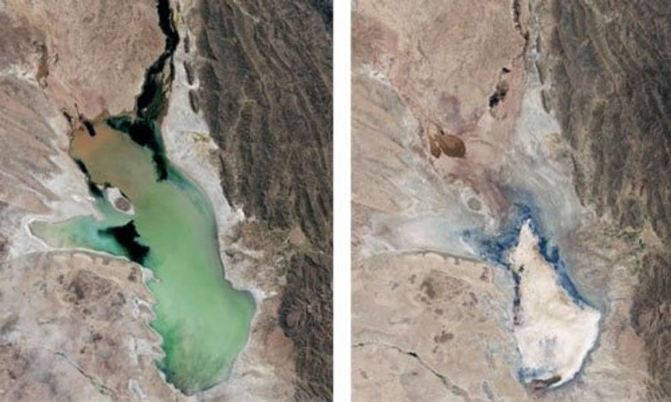 Bolivia's Second-Largest Lake Dries Up: Is Utah's Great Salt Lake Next?