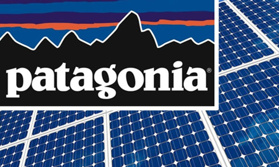 Patagonia to Fund Rooftop Solar Installations on 1,500 Homes