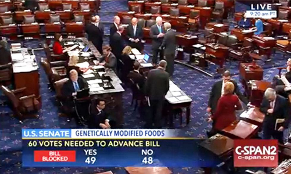 Huge Victory: Senate Rejects the DARK Act