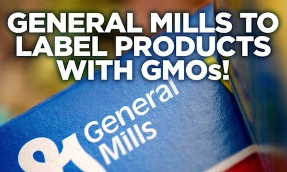 Cereal Giant General Mills to Start Labeling GMOs Nationwide as Vermont Law Looms