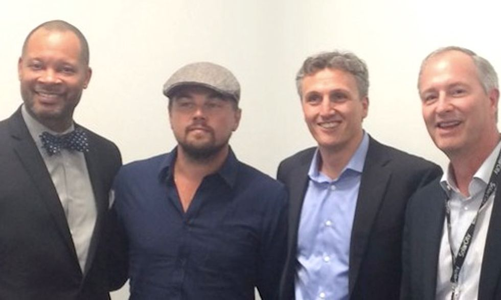 Musk, DiCaprio and Rive Talk the Future of Solar at Tesla Gigafactory