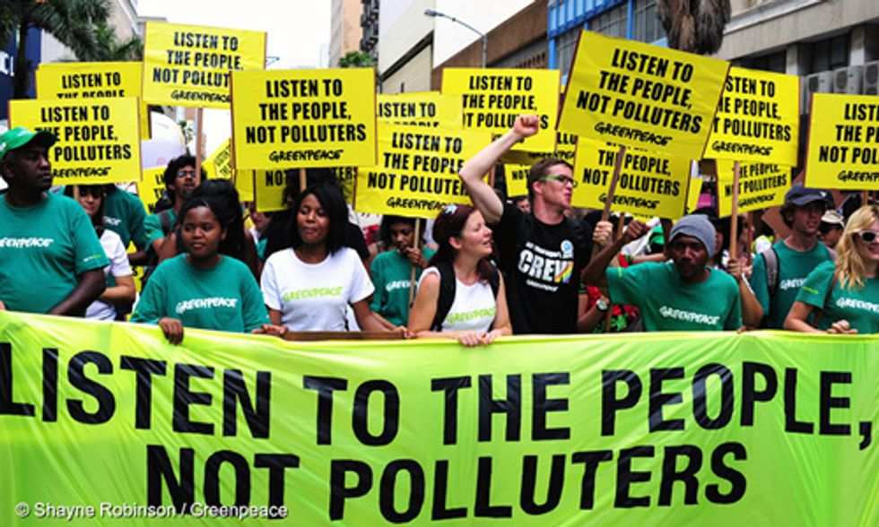 Congress, Listen to the People, Not the Polluters