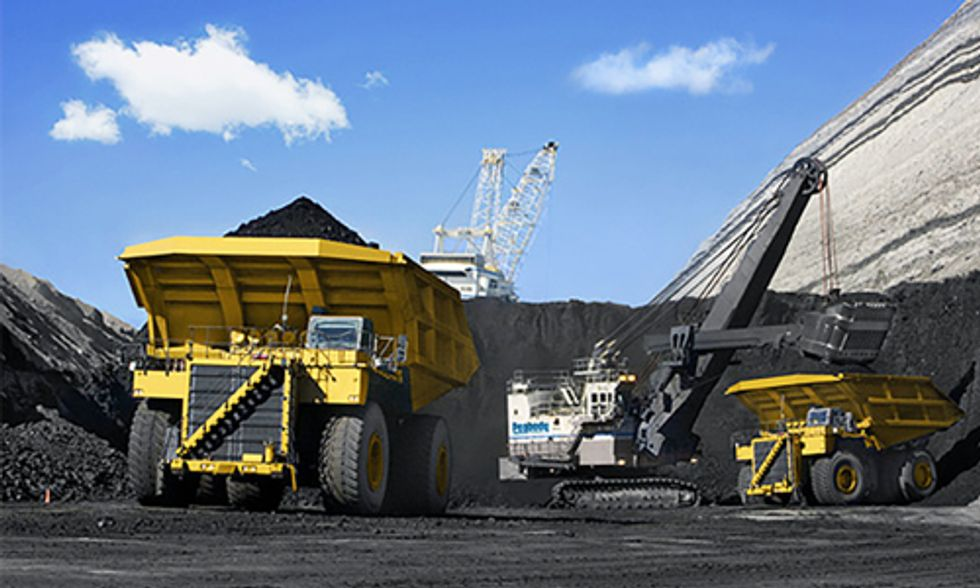 World's Largest Coal Company Expected to File for Bankruptcy as Stock Price Tanks