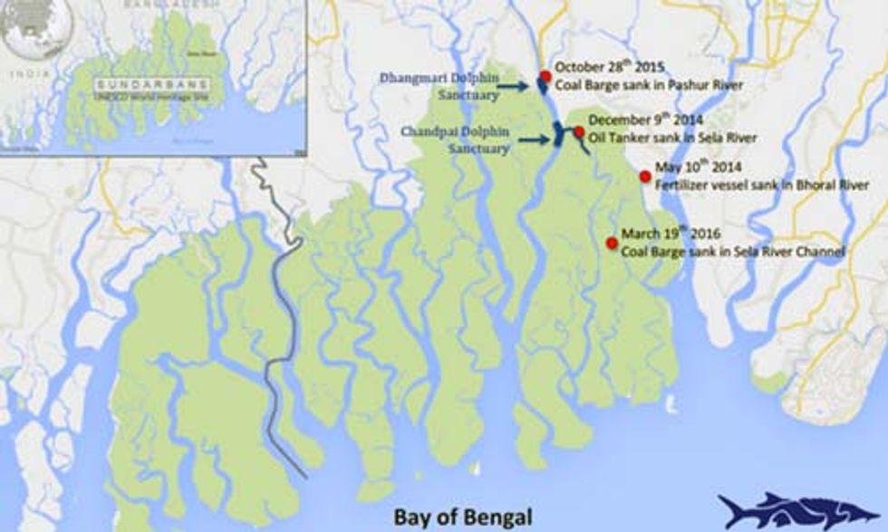 Another Fully Loaded Coal Vessel Sinks of Coast of Bangladesh