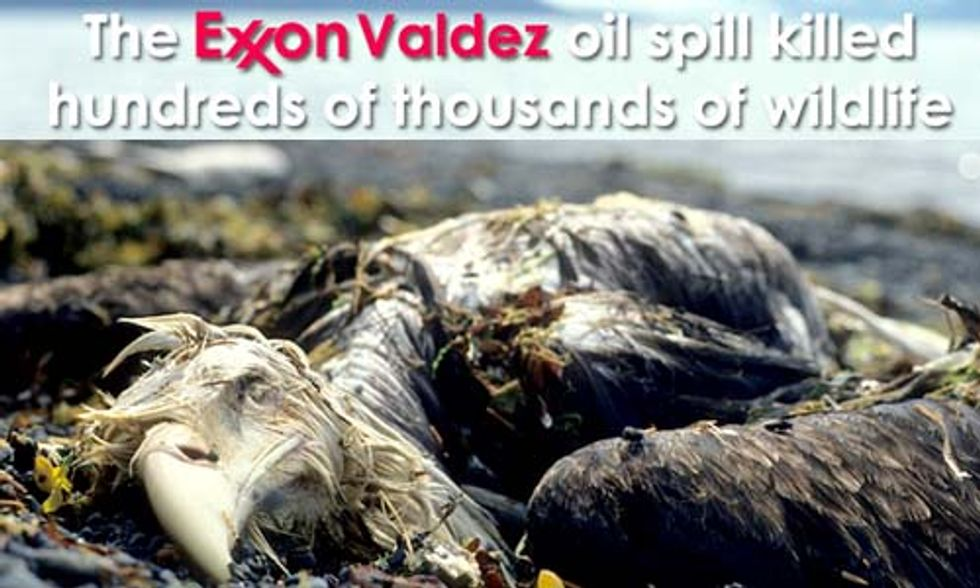 Remembering Exxon Valdez: Obama Should Cancel Leases in Gulf and Arctic