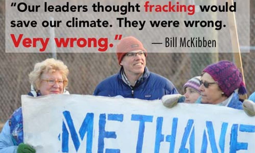 Bill McKibben: Fracking Has Turned Out to Be a Costly Detour