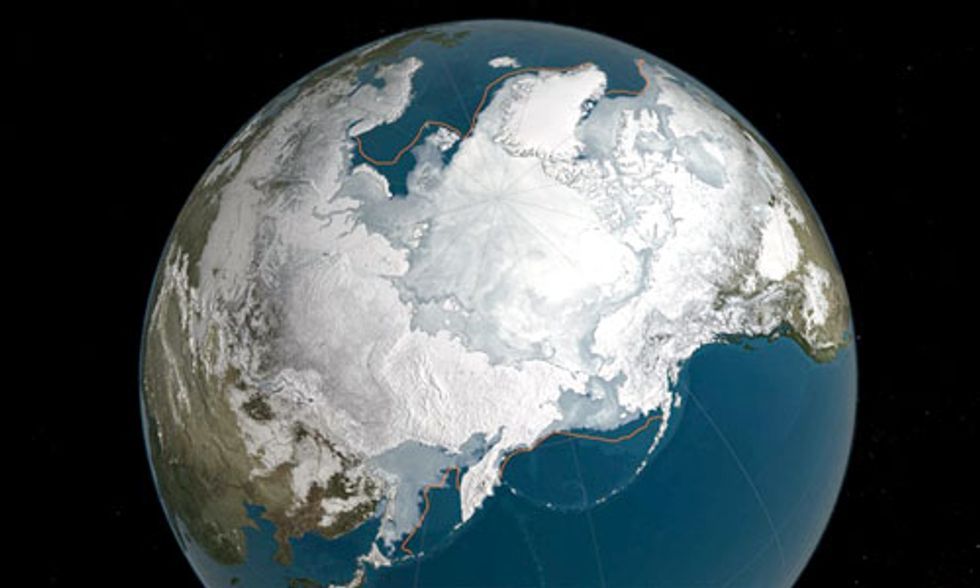 Arctic Sea Ice Hits Yet Another Record Low