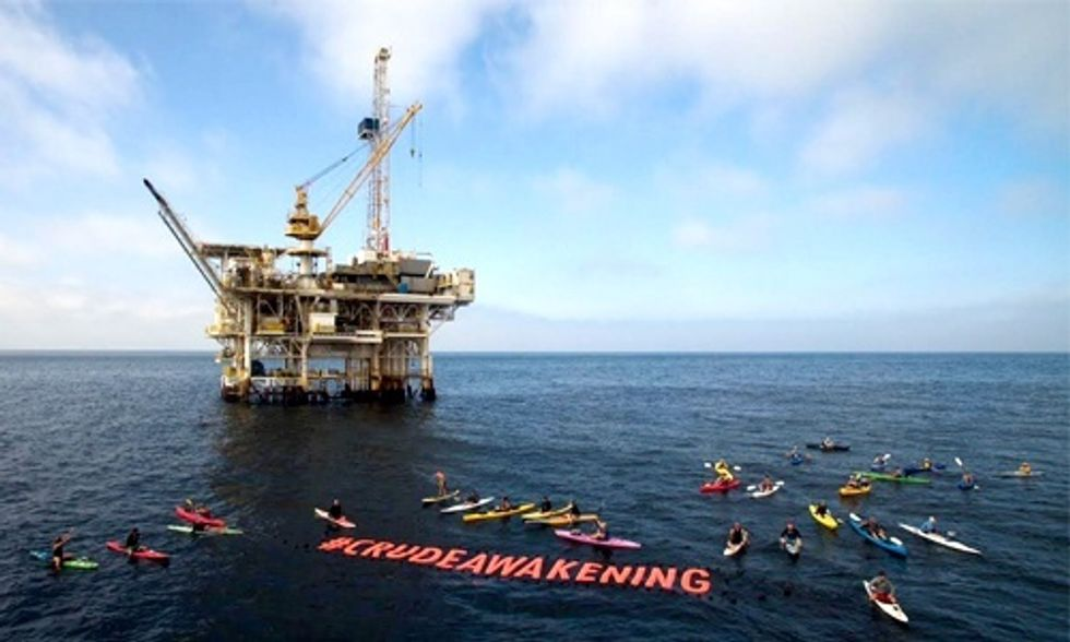 Activists Take to the Sea to Help Stop Future Oil Spills