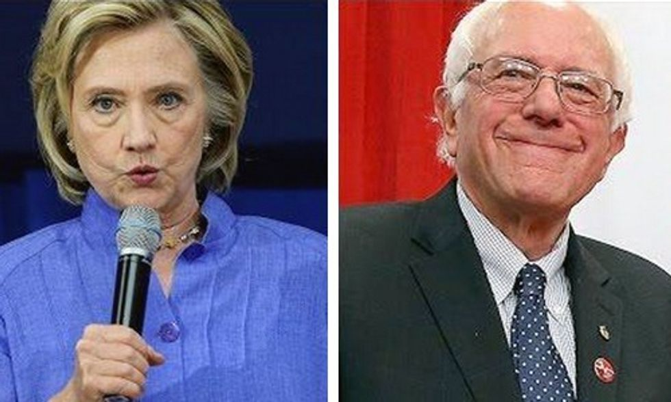 Another Poll Shows Bernie Beating Hillary