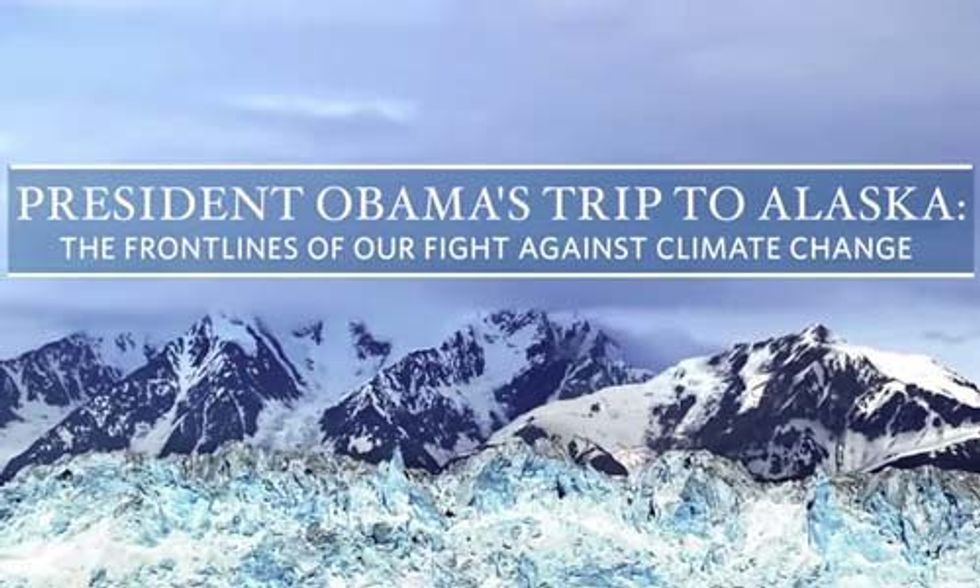 Obama Heads to Alaska as Climate Groups Cry 'Hypocrisy' Over Decision to Drill in the Arctic