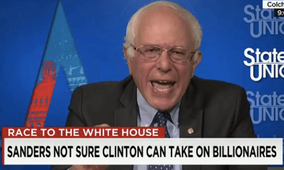 Bernie Sanders: The Environment Deserves a Debate