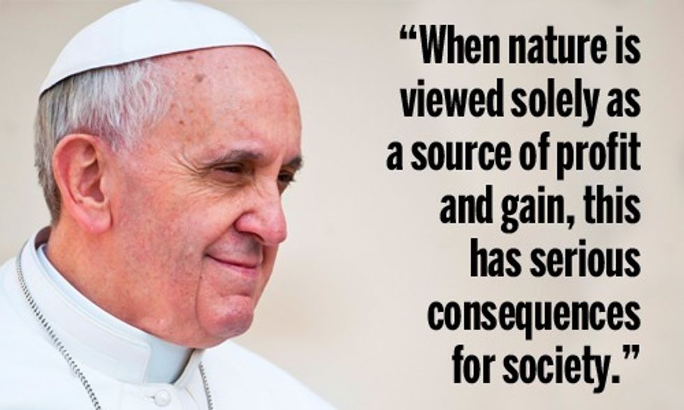 21 Quotes From Pope Francis' Encyclical Worth Noting