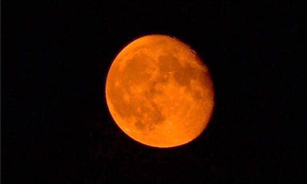 Devastating Wildfires Are Even Changing the Appearance of the Moon