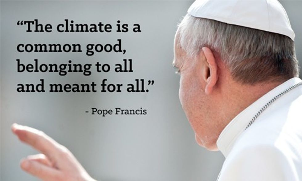 Pope Francis: The Rich and Powerful Need to 'Care' for the Planet