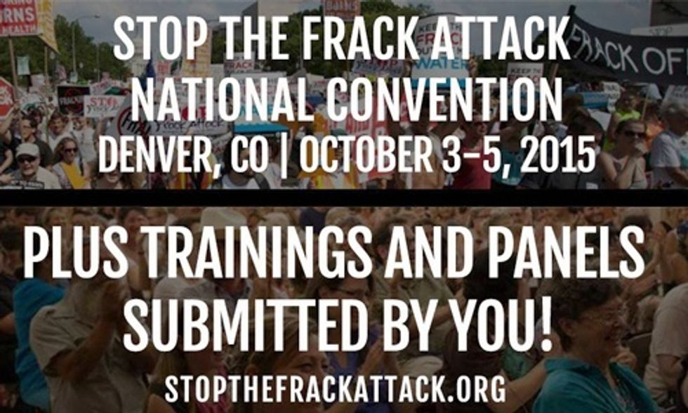 Stop the Frack Attack National Summit Oct. 3-5
