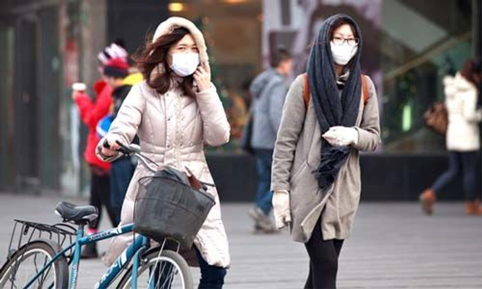 Real-Time Map Reveals China's Deadly Air Pollution