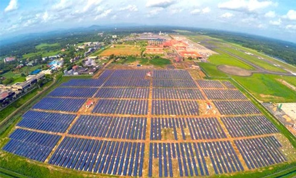 World's First Solar Airport Generates More Power Than It Consumes