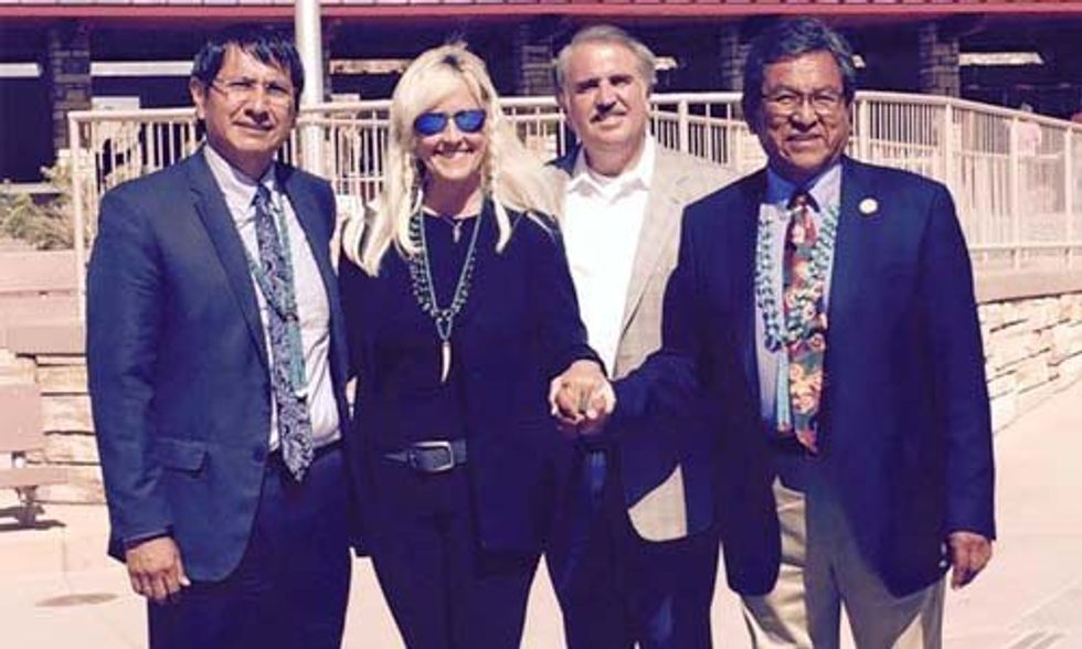Erin Brockovich Stands With Navajo Nation, Accuses EPA of Lying About Colorado's Toxic Mine Waste Spill