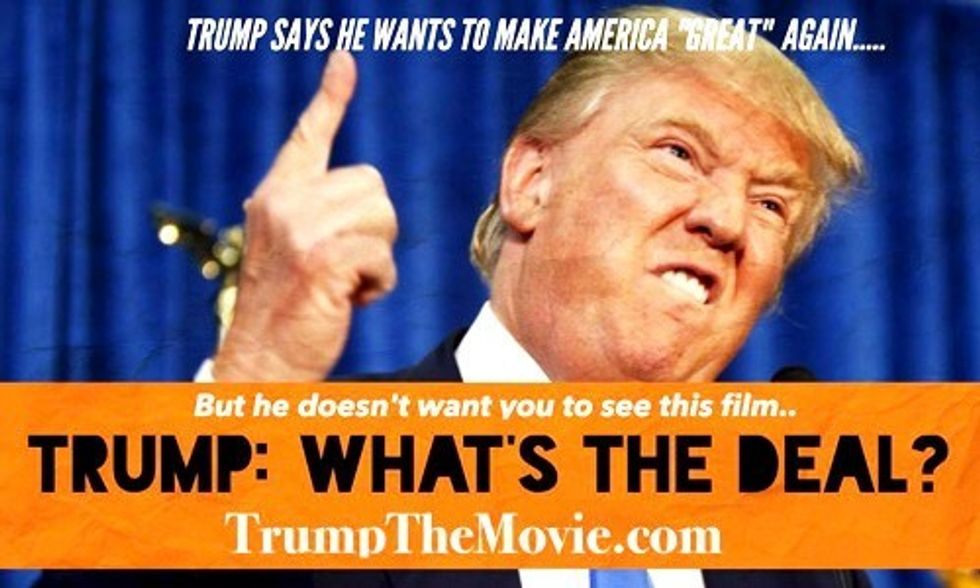 Watch the Documentary Donald Trump Has Prevented You From Seeing for 24 Years