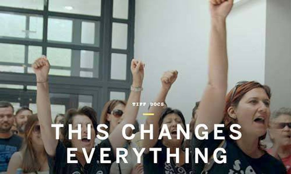 World Premiere of Naomi Klein's 'This Changes Everything'