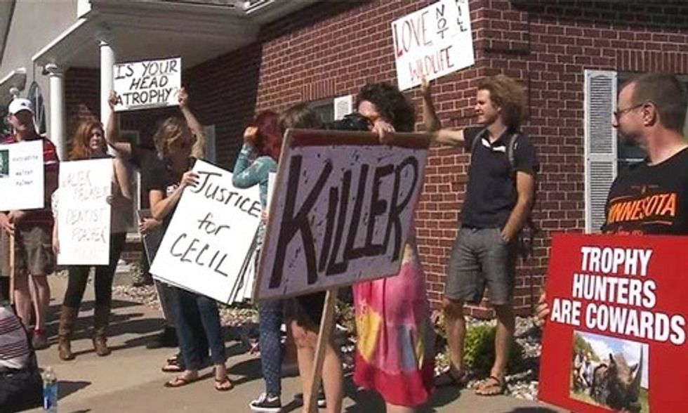 Cecil the Lion's Killer Breaks His Silence and Returns to Work