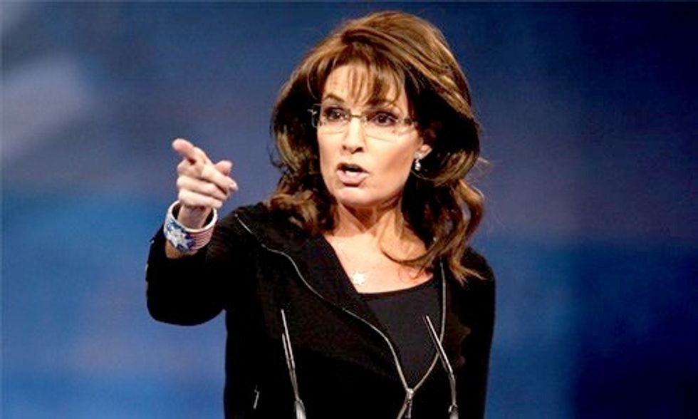 Sarah Palin Blasts Obama Claiming Glaciers Are Growing and Man Isn't to Blame for Climate Change