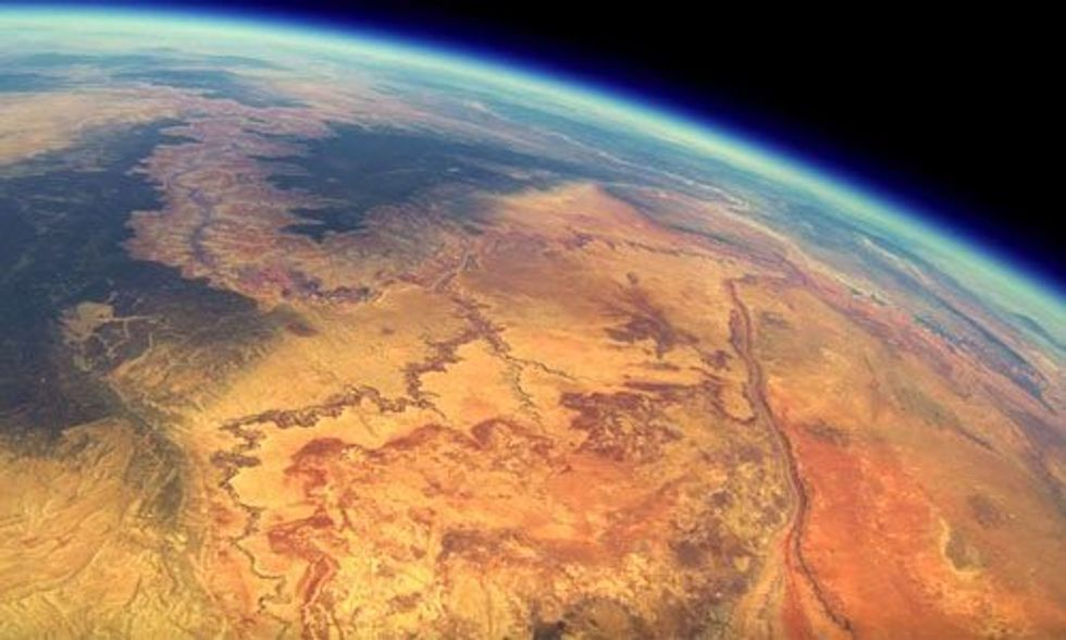 GoPro Camera Found After Two Years Shows Breathtaking Footage of Grand Canyon From 'Edge of Space'