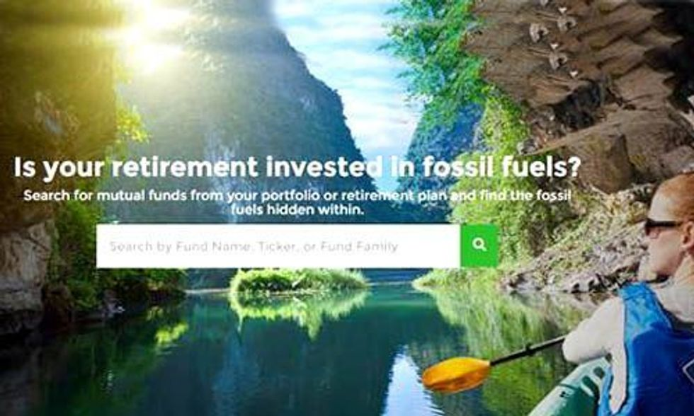 Is Your Retirement Invested in Fossil Fuels?