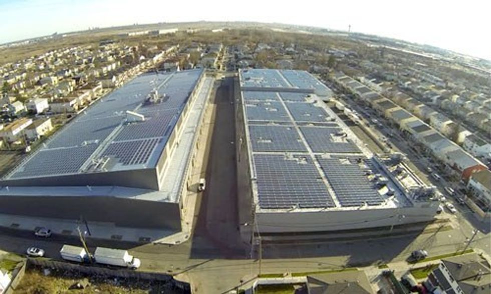 Landmark Solar Project Powers Bloomberg Headquarters in Manhattan