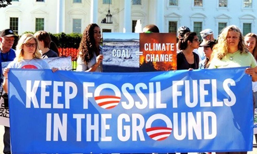 400 Groups to Obama: Keep Fossil Fuels in the Ground