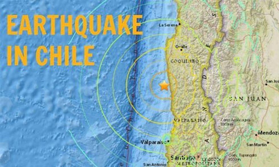 Massive Earthquake Triggers Tsunami, Claims Lives in Chile