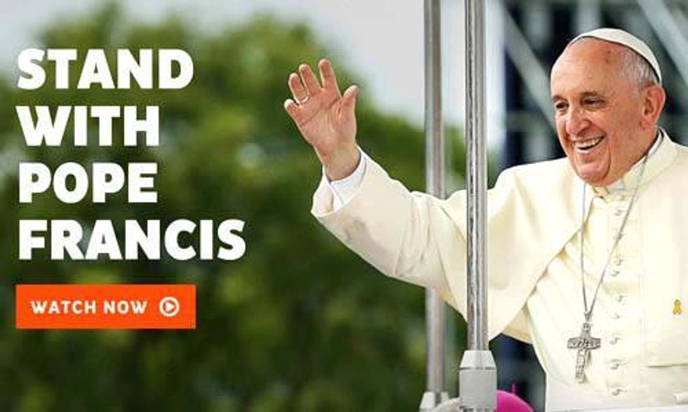 Stand With Pope Francis