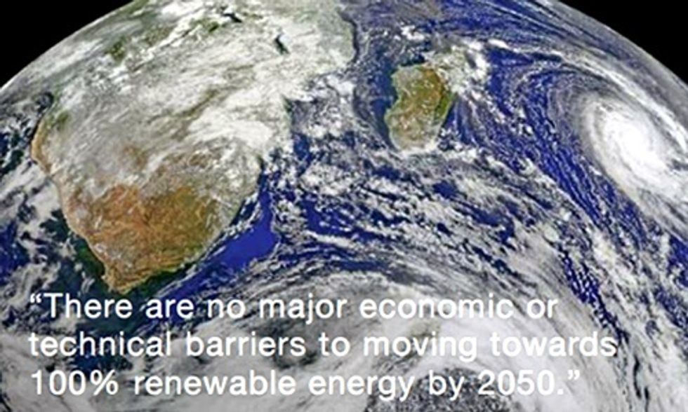 100% Renewable Energy Possible by 2050, Says Greenpeace Report