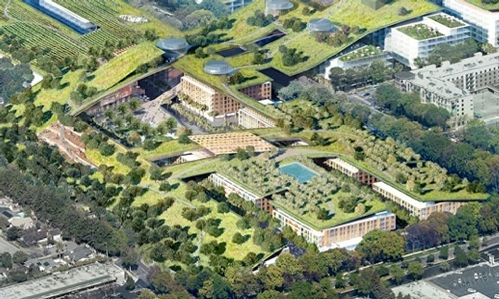 World's Largest Green Roof to Sit on Top of Dying California Mall