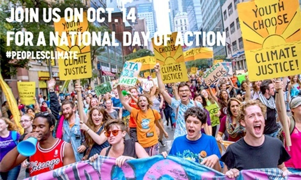 Join National Day of Action Oct. 14 and Demand Leaders Tackle Climate Change