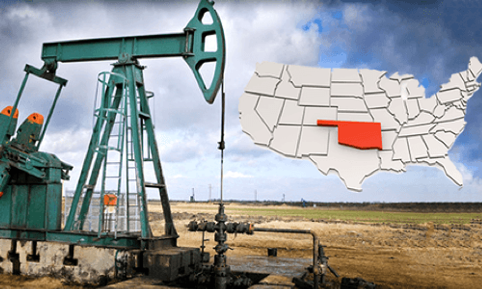 Fracking Increases Oklahoma Earthquakes from Two a Year to Two a Day