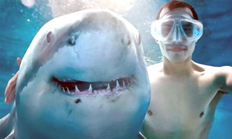 More People Have Died This Year from Selfies Than Sharks