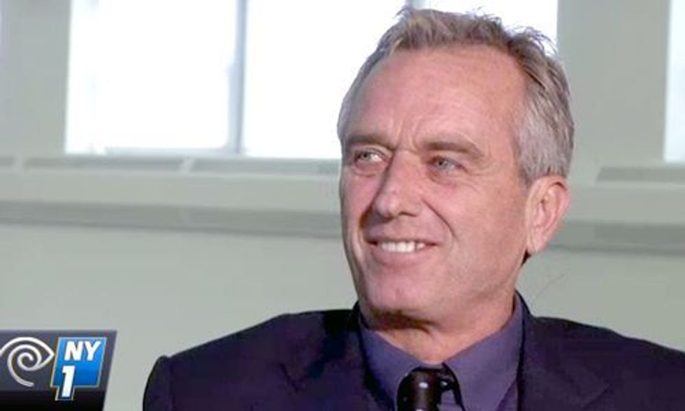 Robert F. Kennedy Jr: Pope's Call to Tackle Climate Change 'Is a Moral Imperative'
