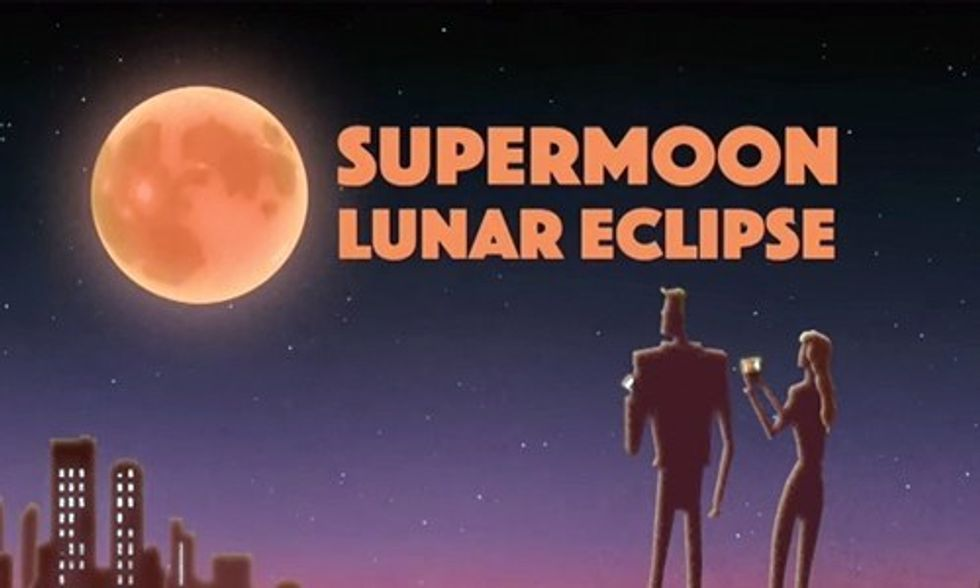 When and Where to See the Super-Rare Supermoon Lunar Eclipse
