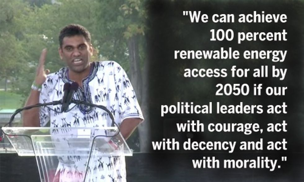 Kumi Naidoo: 'We Stand 100% With the Pope' and His Call to Climate Action