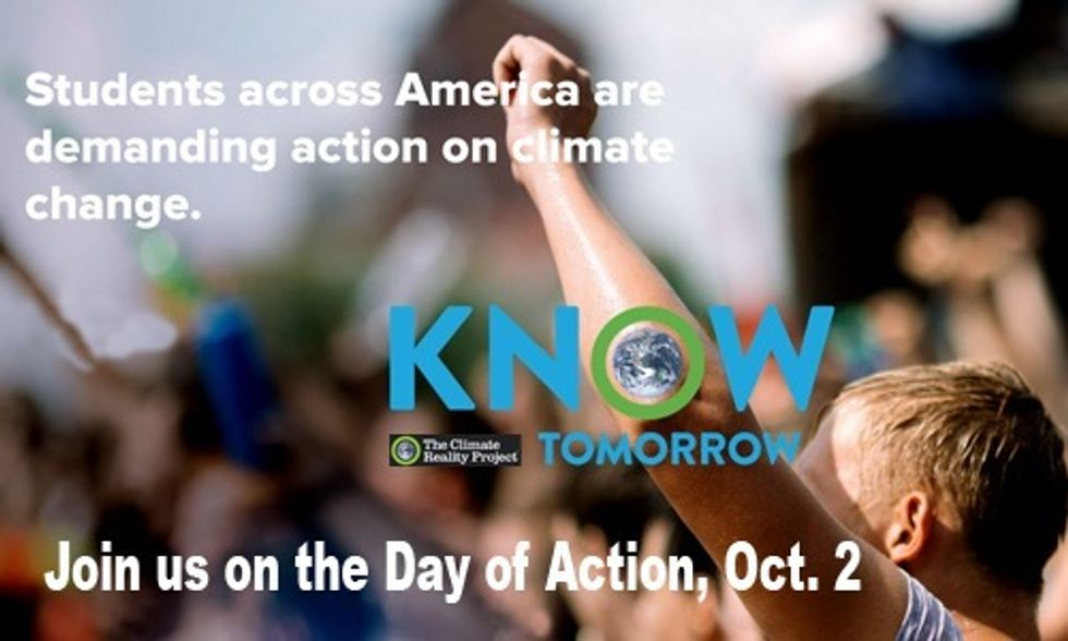 Students Across America Demand Climate Action Oct. 2