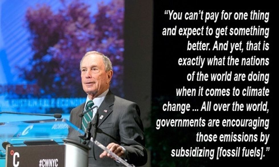 Michael Bloomberg: It's Time to Ramp Up Local Climate Efforts