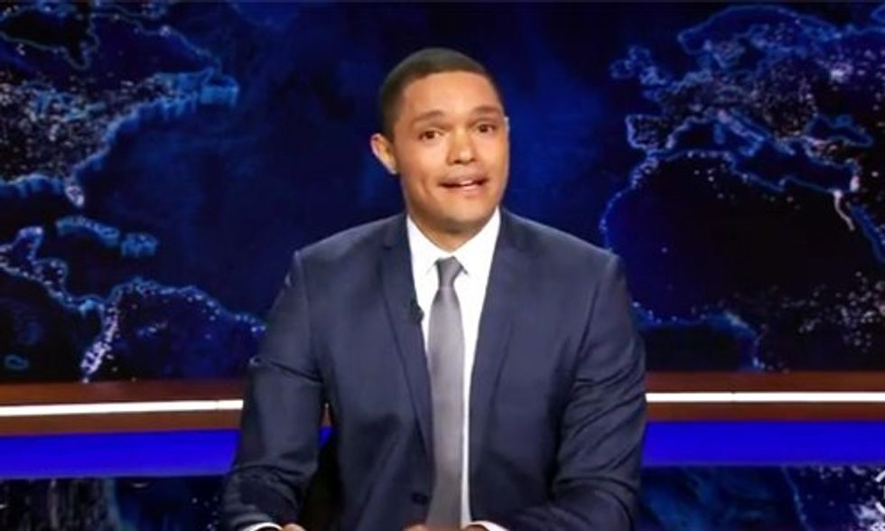 Trevor Noah Calls Pope Francis a 'Young Bernie Sanders' in First Daily Show Opening
