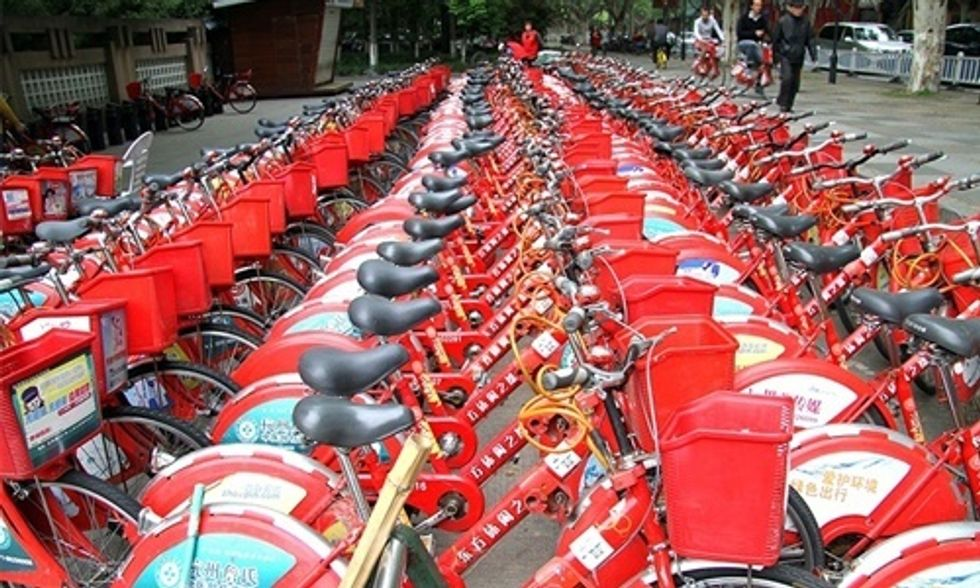 8 of the World's Best Bike Sharing Programs