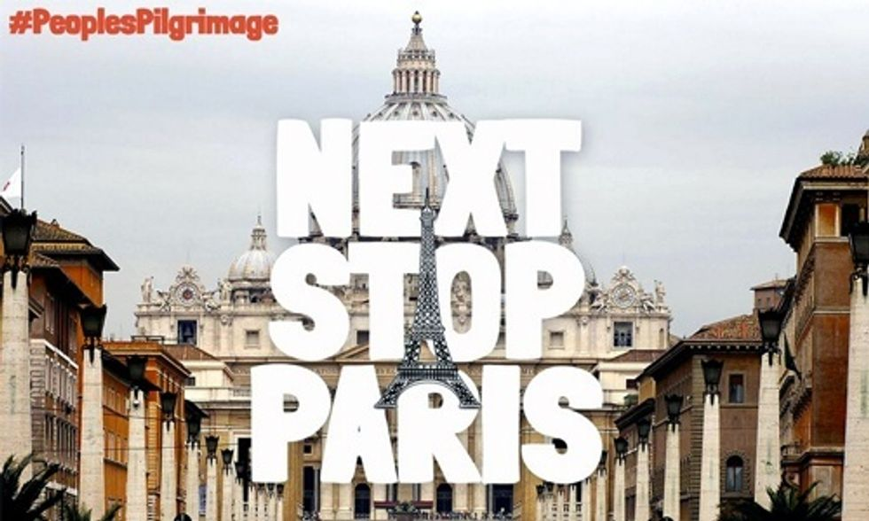 Yeb Saño Embarks on 930-Mile Walk From Rome to Paris Demanding World Leaders Take Climate Action