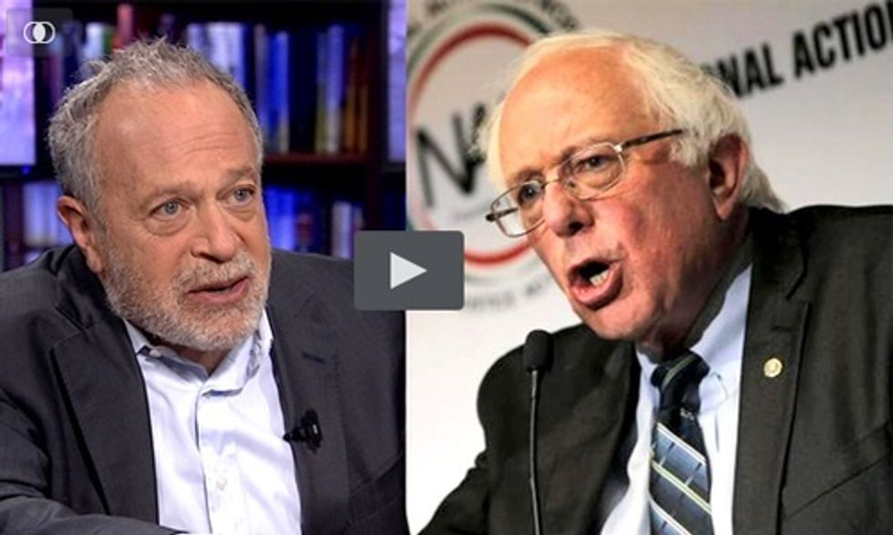 Robert Reich: Why Bernie Sanders Is So Popular