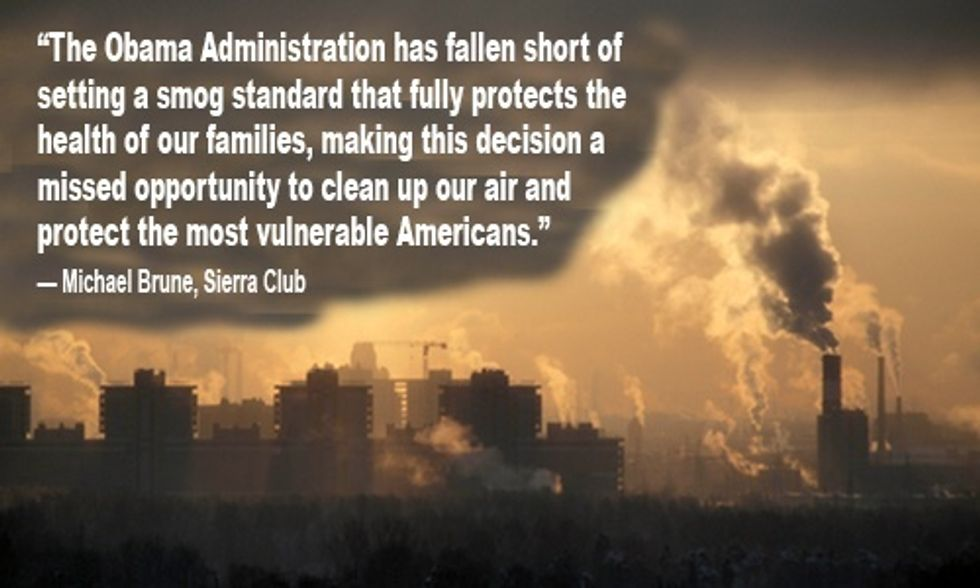 Obama's Updated Smog Standard: A Missed Opportunity