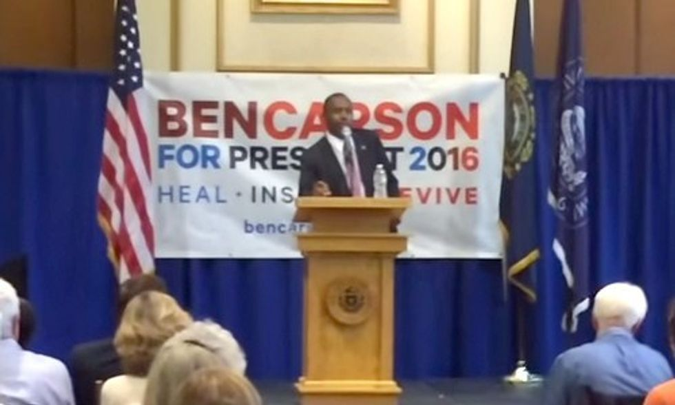 Ben Carson Says He Doesn't Believe in Climate Change or Evolution