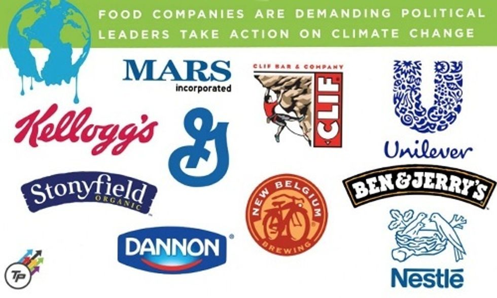10 Food Company CEOs Tell World Leaders to Act on Climate