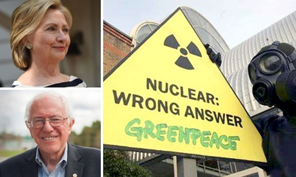 Why Bernie and Hillary Must Address America's Dying Nuke Reactors
